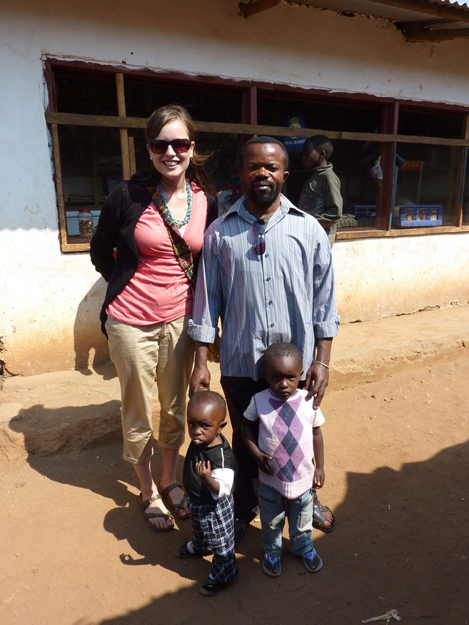 Meeting Isaac, one of WUSC's Community Mobilizers for the Academic and Leadership Program, in Dzaleka Refugee Camp