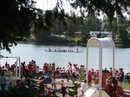 Canoe rides are always popular