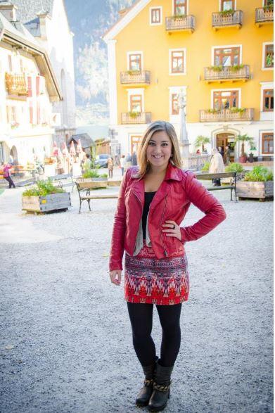 Julia Ufimzeff, Premier's International Scholarship recipient in Hallstatt, Austria