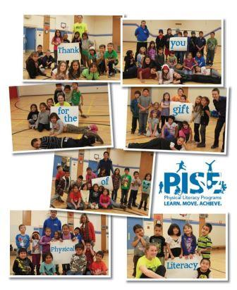 PISE Physical Literacy thank you