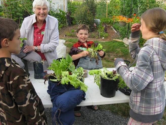 Anne Boquist - Sooke Children's Garden Club