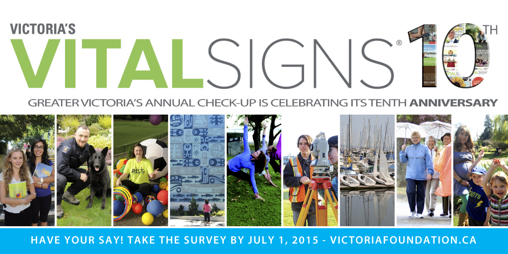 2015 Victoria's Vital Signs survey