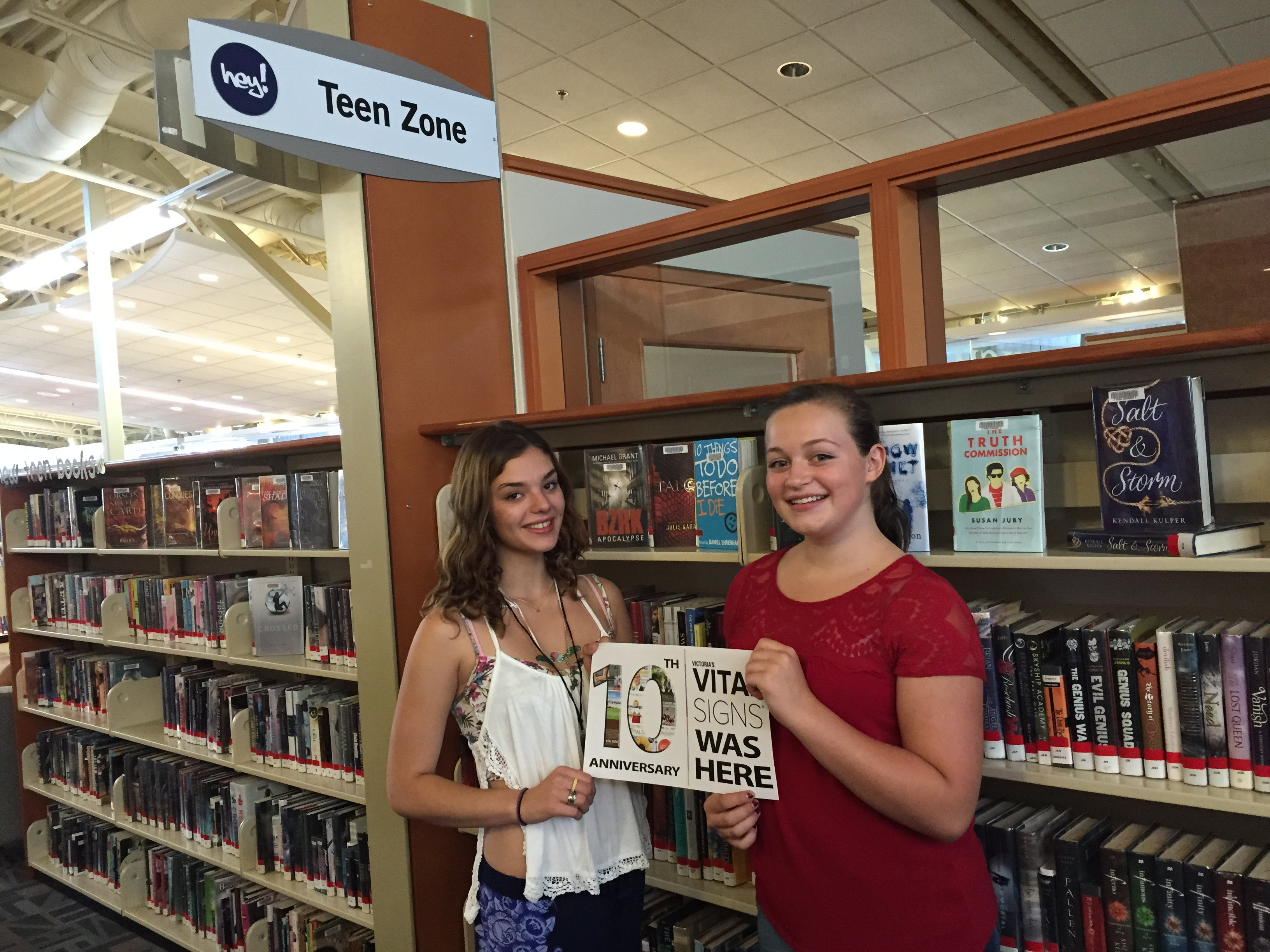 Greater Victoria Public Library Teen Zones
