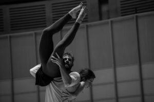 Dance Victoria resident artists Kirsten Wicklund & Peter Smida. Photo: Cindi Wicklund Fotografia