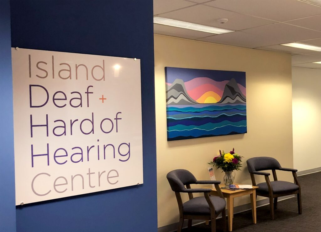 Island Deaf and Hard of Hearing Centre office