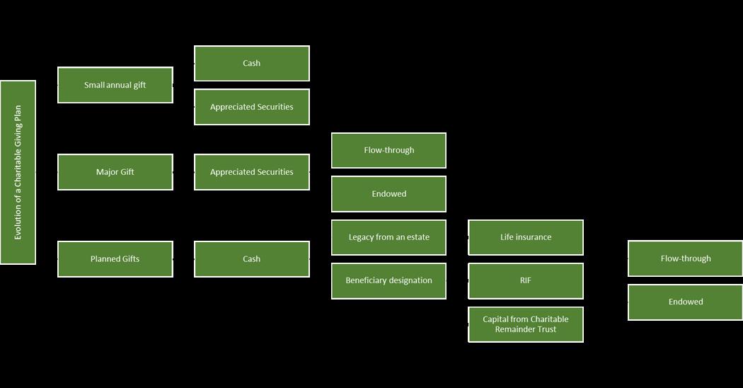 Evolution of Charitable Giving Plan